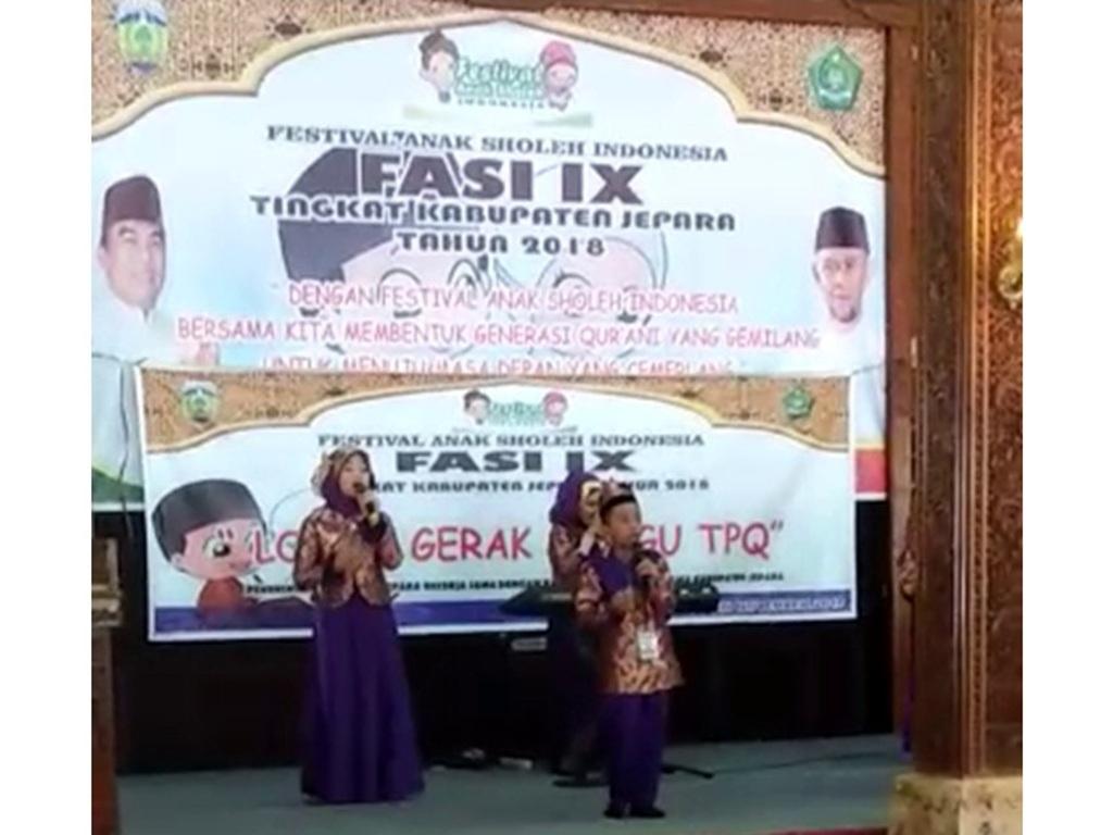 Festival Anak Sholeh Ajang Tumbuhkan Karakter Religius Pada