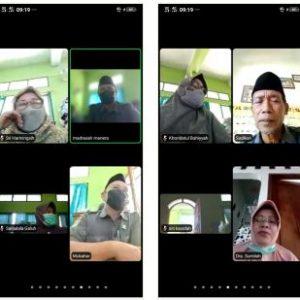 MAN 1 Rembang Adakan Rapat Virtual Kenaikan Kelas