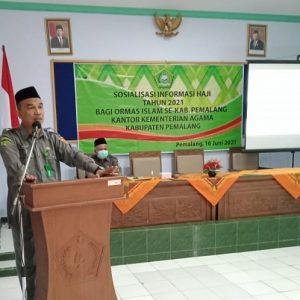 Ormas Islam Diharapkan Turut Sosialisasikan KMA 660 Tahun 2021