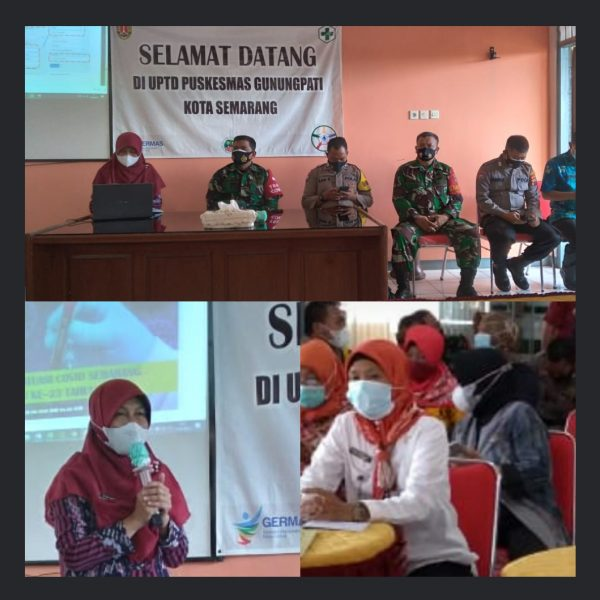 MIN Kota Semarang hadir pada acara Refresing materi tracher  diselenggarakan oleh UPTD Pukesmas Gunungpati Kota Semarang.