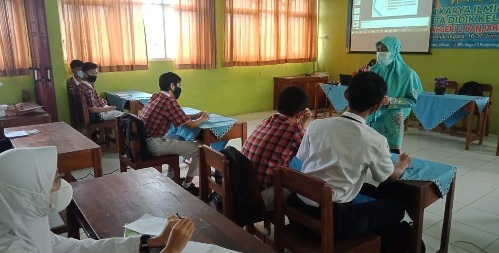 MTs 2 Banjarnegara gelar workshop riset