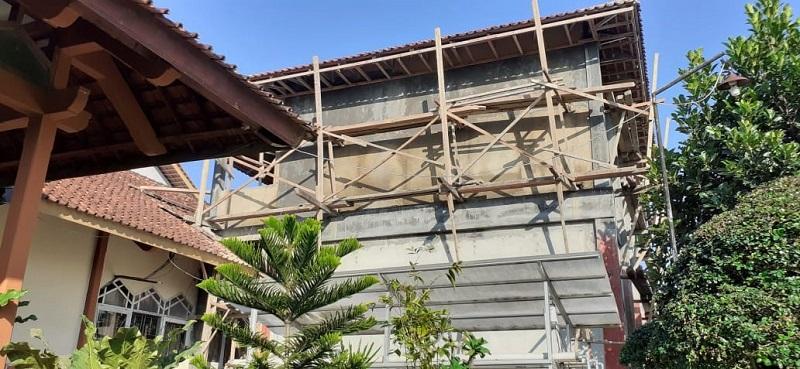 Pembangunan sarpras MTs N 2 Banjarnegara
