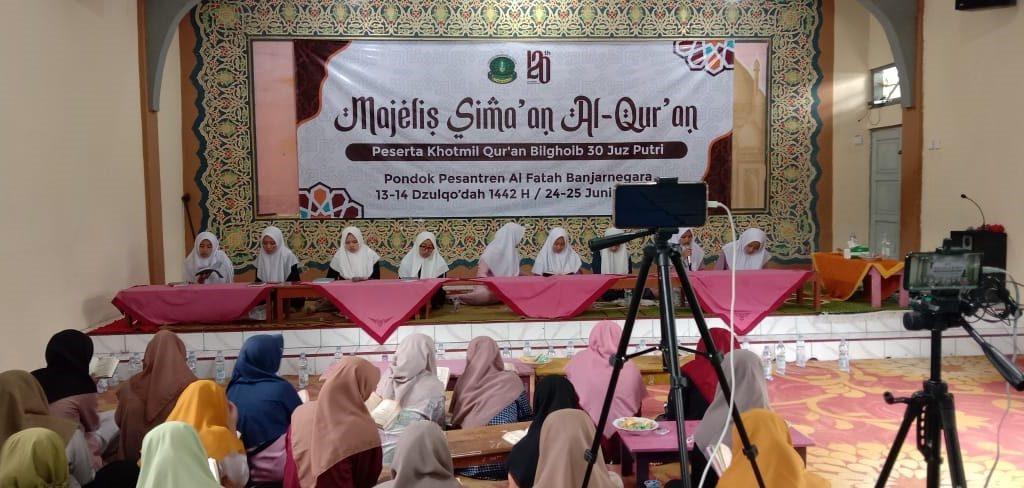 Simaan Al Quran MI Al Fatah