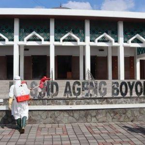 Masjid Agung dan Masjid Ageng Kabupaten Boyolali Tidak Laksanakan Shalat Idul Adha