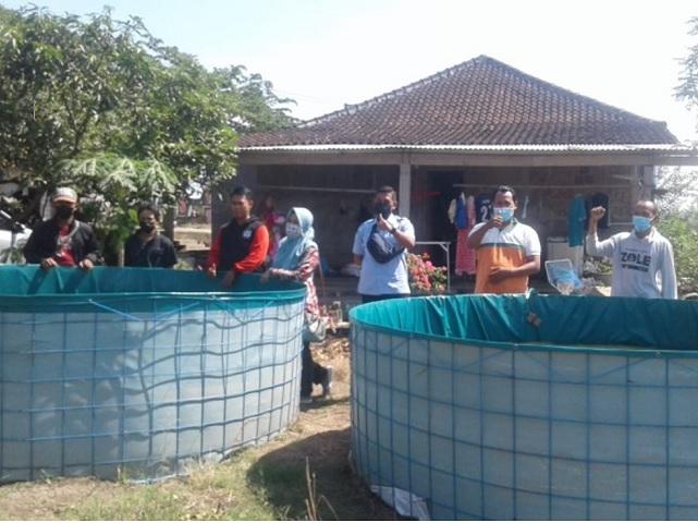Pemberdayaan Jamaah Binaan melalui Budidaya Lele dengan Biofolk kerja sama dengan Penyuluh Pertanian Boyolali