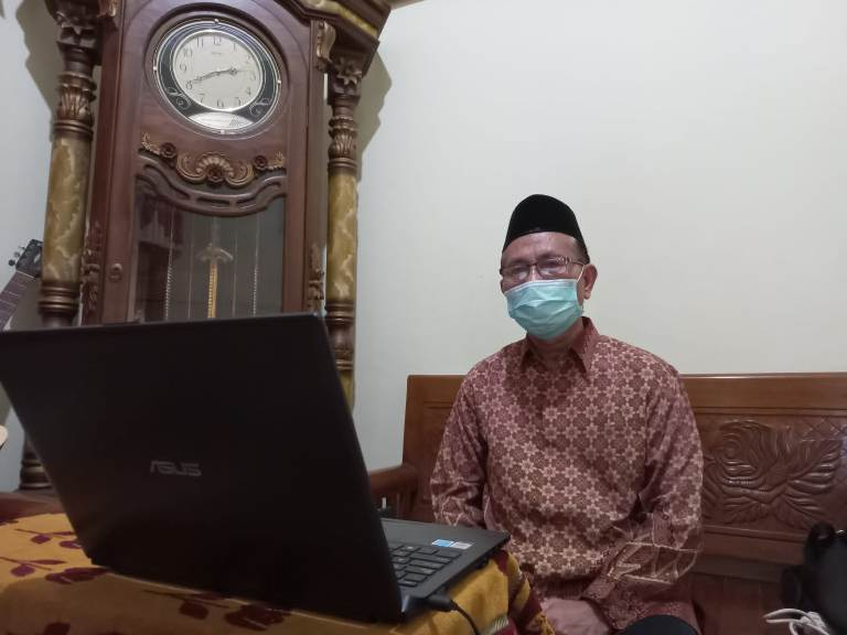 Kepala Kankemenag Kab. Pati, Drs. H. Ali Arifin, MM