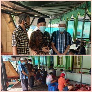 Masjid Agung Kota Magelang Laksanakan Penyembelihan Hewan Qurban pada 12 Dulhijjah 1442 H