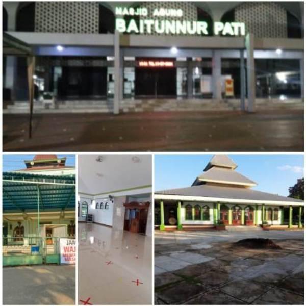 Masjid Agung dan Masjid Besar di Pati Tiadakan Shalat Idul Adha 1442 H dan Kurban
