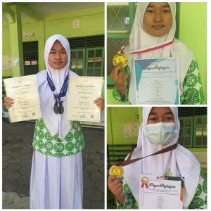 MA Salafiyah Pati Raih 16 Medali Dimasa Pandemi