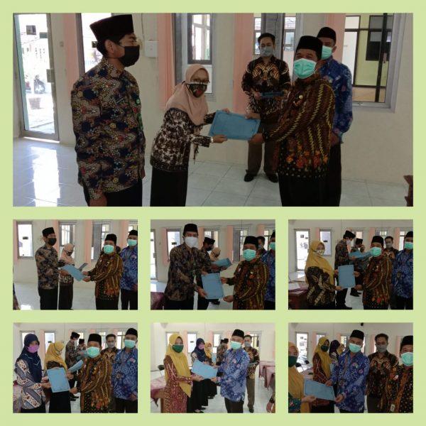Redistribusi 8 Guru Madrasah Wilayah Kankemenag Kab. Pekalongan