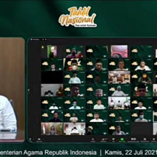 "Kemenag Gelar Tahlil Nasional Doakan ""Syuhada"" Korban Covid-19"