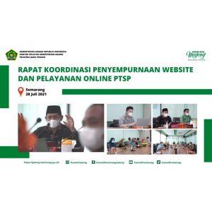 Sempurnakan Website dan Layanan Online PTSP Untuk Tingkatkan Kualitas Pelayanan