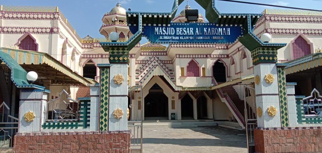 Peniadaan shalat Iedul Adha di masjid Besar Bulakamba Brebes