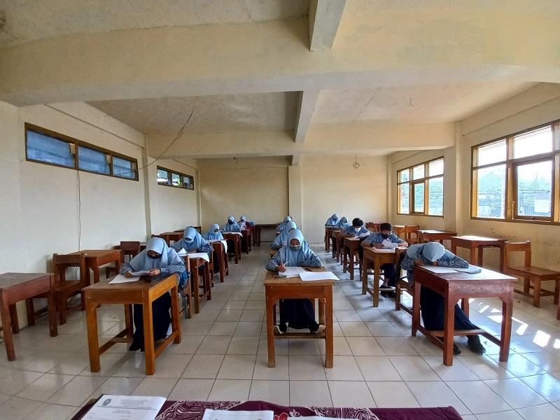 MTs Muhammadiyah Batur Sukses Adakan Kompetisi Sains Madrasah Tahun 2021