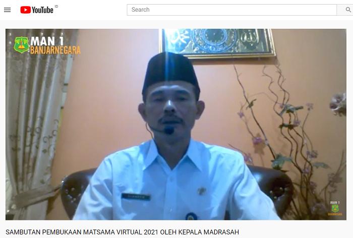 Live Youtube Matsama MAN 1 Banjarnegara