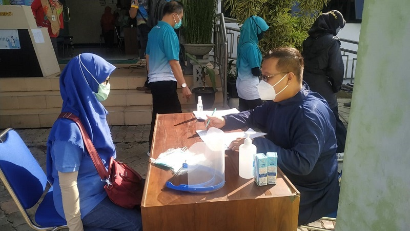 vaksinasi tahab 2 MAN 1 Banjarnegara