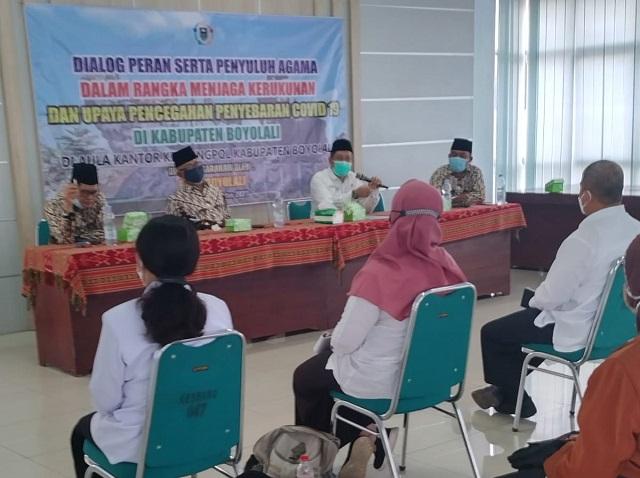 Dialog FKUB bersama Penyuluh Agama Kabupaten Boyolali