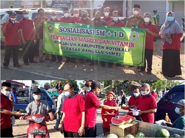 Kegiatan Sosialisasi 5M 1D oleh Pokjaluh Kabupaetn Boyolali