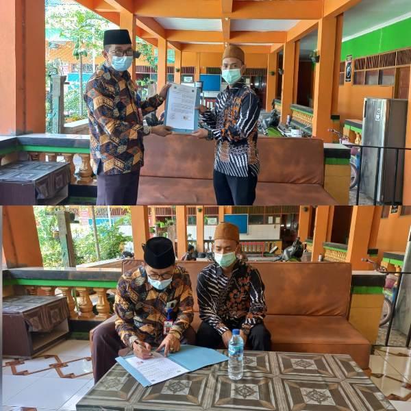 MTsN 1 Pati Gandeng MTs Nurul Khosyi'in jadi madrasah binaannya.