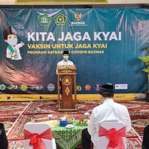 "Launching Program ""Kita Jaga Kyai"" Ponpes Al Ishlah"