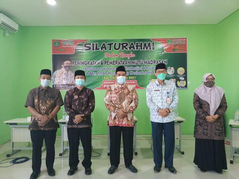 MTsN 1 Pati Gandeng Yayasan Madarijul Huda