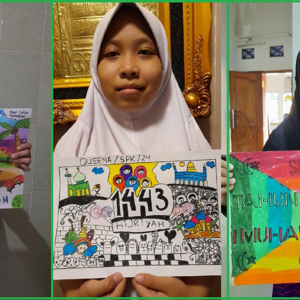 MIN 1 Sukoharjo Sambut Tahun Baru Islam
