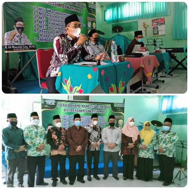 Kokohkan Sahabat Madrasah, MTsN 1 Pati Gelar MoU