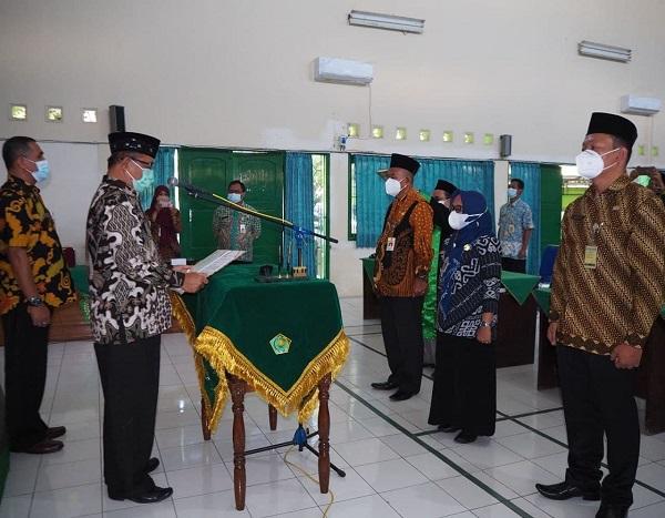 Pelantikan Jabatan Pengawas (Eselon IV) di Lingkungan Kankemenag Kab.Semarang, 16 September 2021