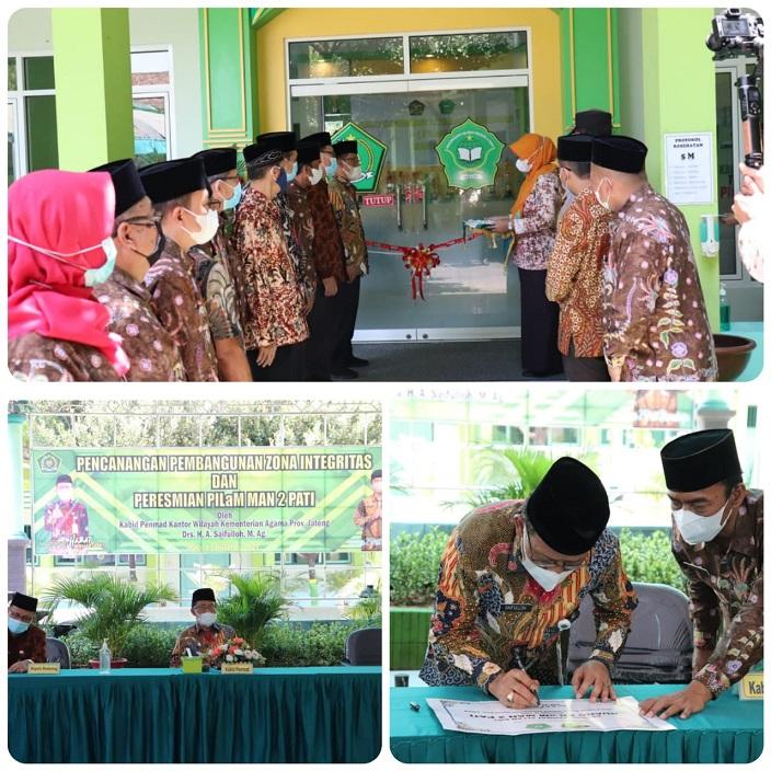 MAN 2 Pati Resmikan Pusat Informasi Layanan Madrasah (PILaM)